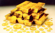Gold-bullion-coins-bars