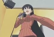 Sakaki sings