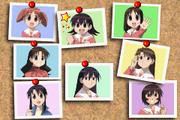 Azumanga Daiou Advance Character Selection Screen
