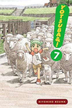 Yotsuba&! Manga Volume 07 en new