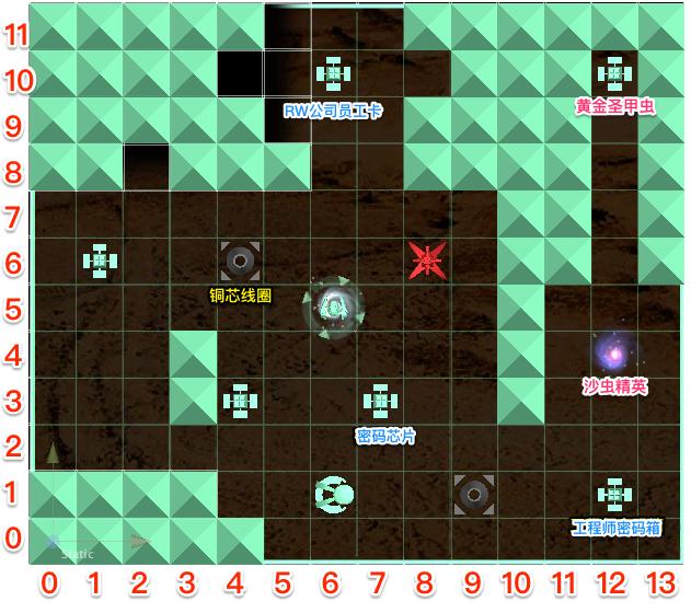 Map1 荒野出口