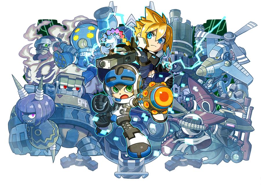 Mighty Gunvolt Burst | Azure Striker Wiki | FANDOM powered by Wikia