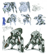 Eden mecha concept art