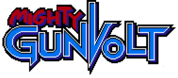 File:Mighty Gunvolt - Logo.png