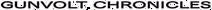 Gunvolt Chronicles ENG Logo