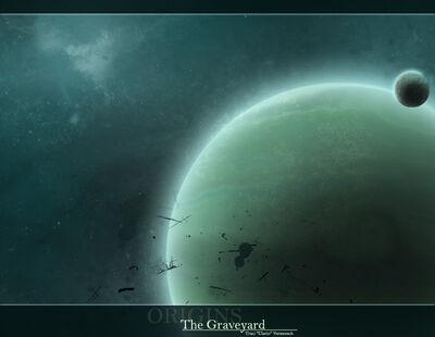 Origins The Graveyard by ulario