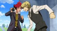 Basara versus Shizuo