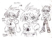 Cain's original design by Eiji