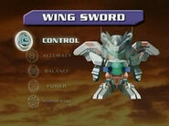 Wing Sword Stats