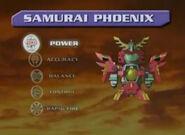 Samurai Phoenix Stats