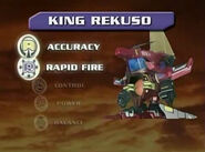 King Rekuso Stats