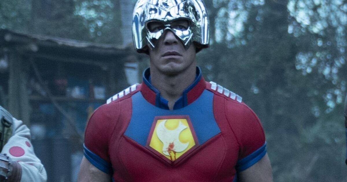 John Cena as Peacemaker.