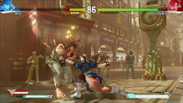 Street Fighter V Gauges