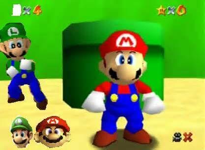 Luigi-Super-Mario-64