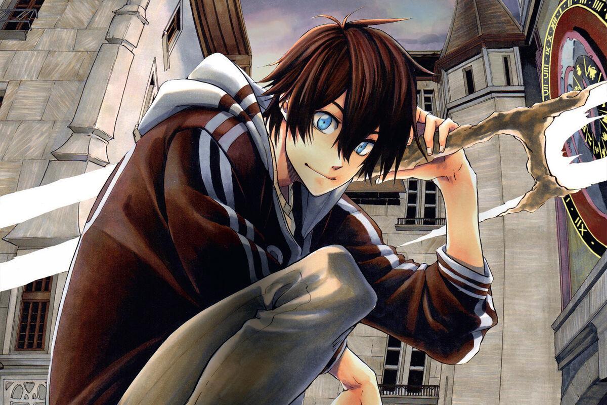 Kamo manga main character