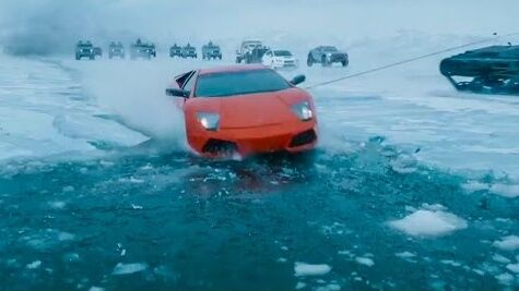 fate of the furious car falling in ice Cropped