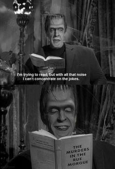 munsters herman munster joke book
