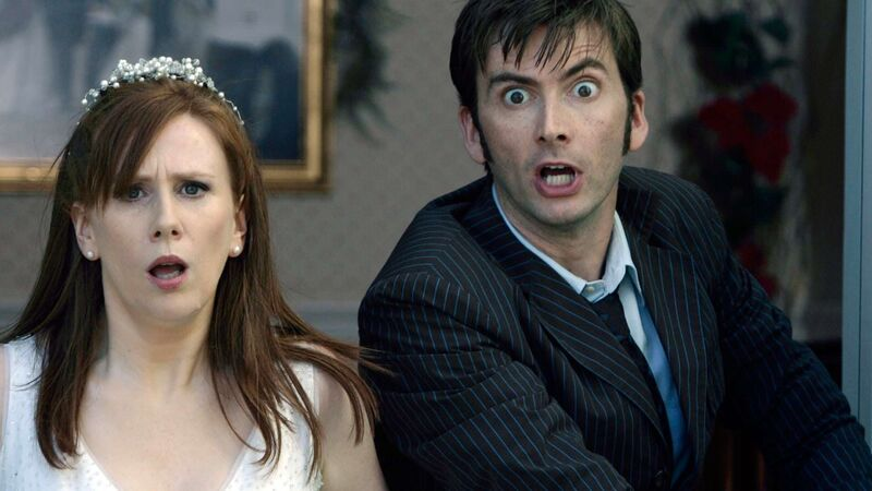 Tenth Doctor David Tennant Doctor Who and Catherine Tate