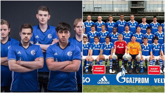 FC Schalke celebrity esports owners