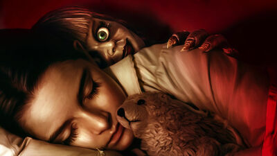 The Annabelle Comes Home Cast Want to Meet the Real Doll