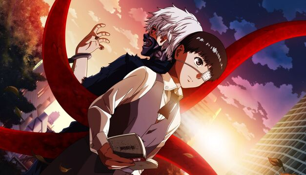 creepy anime obsessions Tokyo Ghoul