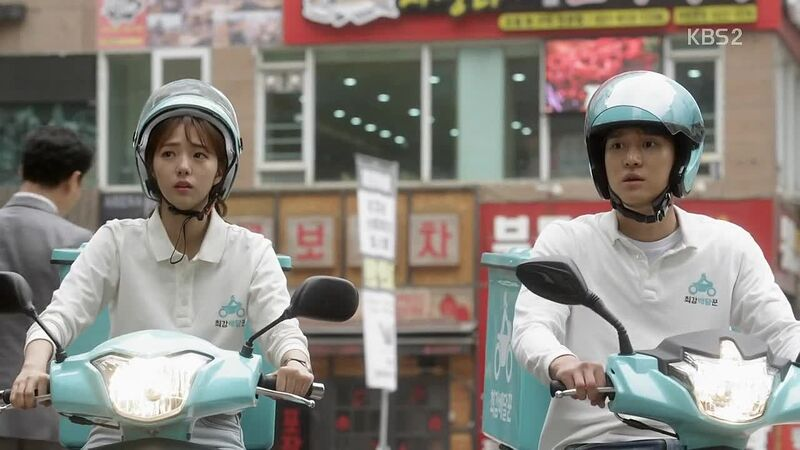 strongest deliveryman scooter