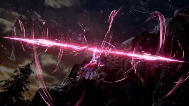 Kilik unleashing his Soul Charged Critical Edge attack
