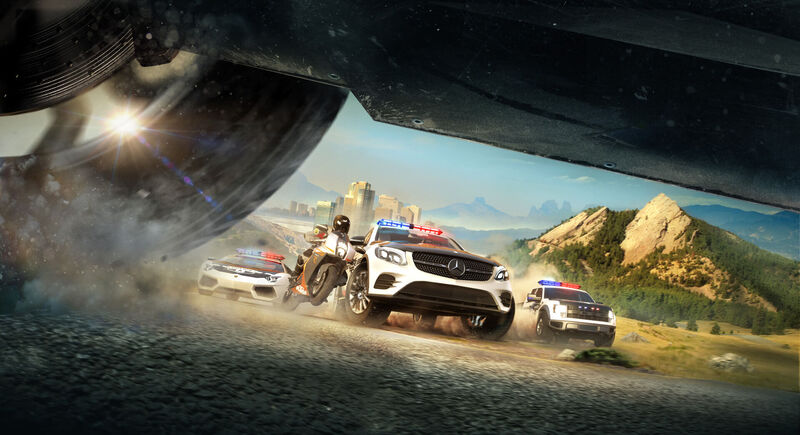 The Crew Calling All Units Brings Cops Vs Racers Chase Gameplay To Racing MMO