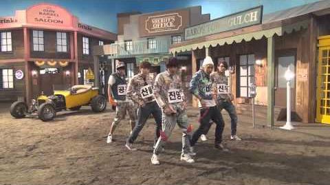 B1A4 - 잘자요 굿나잇 안무 영상 (Baby Good Night Dance Practice Video)