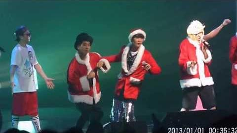 B1A4 Xmas Event 131223 In The Air