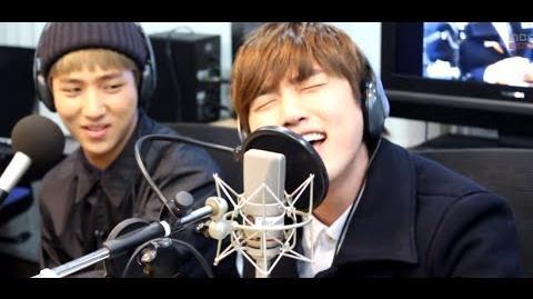 신동의 심심타파 - B1A4 Gongchan & Sandeul - Too Much (Live