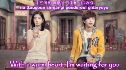 HD B1A4 - Beautiful Target MV Eng Sub Romanization Hangul
