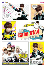 Official-b1a4-jinyoung-poster-for-b1a4-1st-concert-baba-b1a4