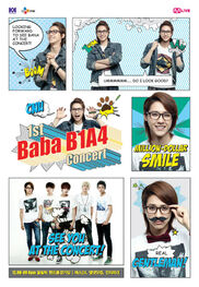 Official-b1a4-cnu-poster-for-b1a4-1st-concert-baba-b1a4