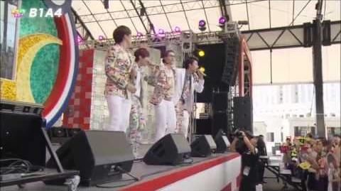 B1A4 - So Fine (Japanese ver.) @ Mezamashi Live 2012
