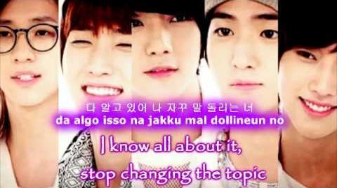 B1A4 - Fooool Eng Sub Romanization Hangul HD