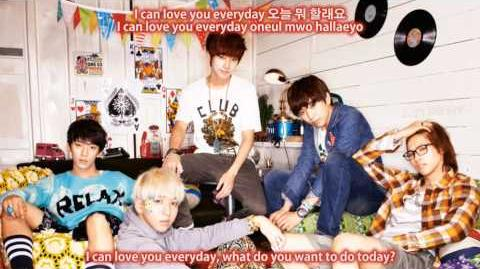 B1A4 (비원에이포) What Do You Want To Do 뭐 할래요 Eng Sub Han Rom