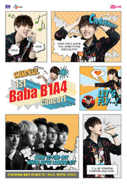 Official-b1a4-sandeul-poster-for-b1a4-1st-concert-baba-b1a4