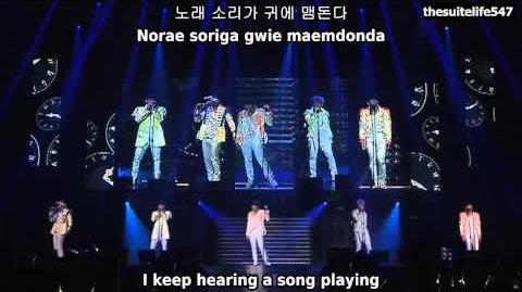 B1A4 - This Time Is Over BABA B1A4 in Seoul (Hangul, Romanization, Eng Sub)