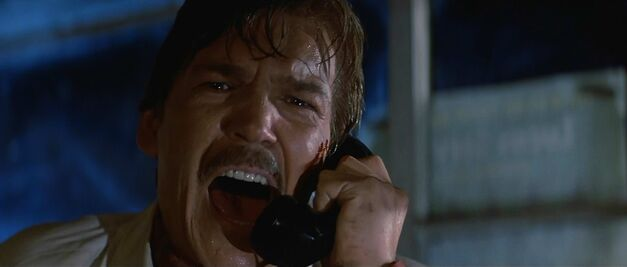Tom Atkins always does a good job portraying characters who are terrible at their jobs.