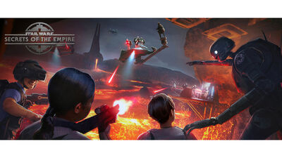 'Star Wars: Secrets Of The Empire' in VR Made Us Feel Like Rebel Spies