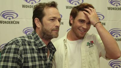 Luke Perry Gives Us One-Word Answers About 'Riverdale'