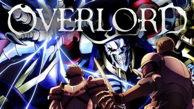 Overlord anime series title card
