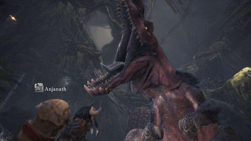 Anjanath monster guide