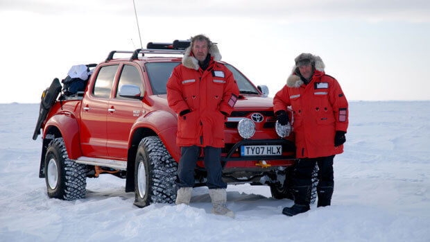 Top Gear Polar Special Hilux Jeremy Clarkson James May