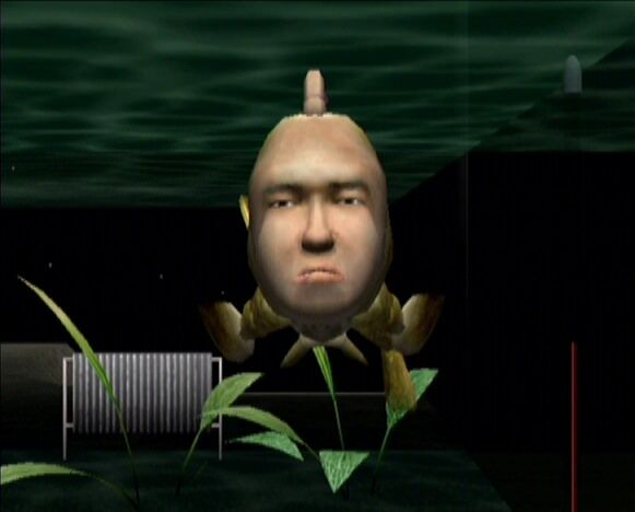A screenshot of Seaman.