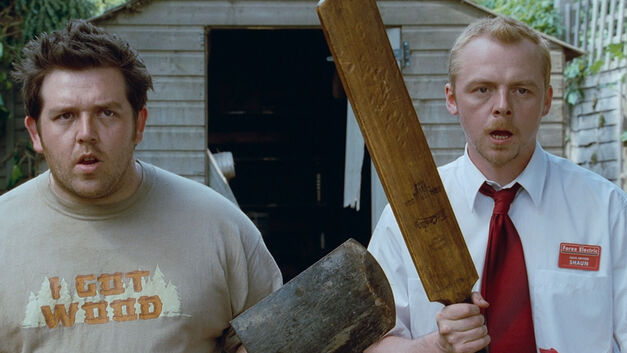 shaun of the dead nick frost simon pegg