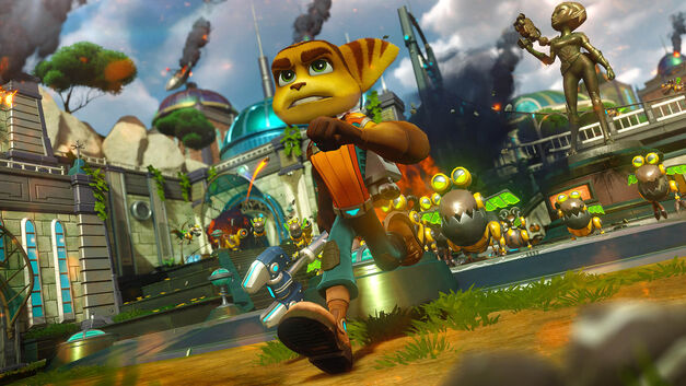 Ratchet-Clank-Run