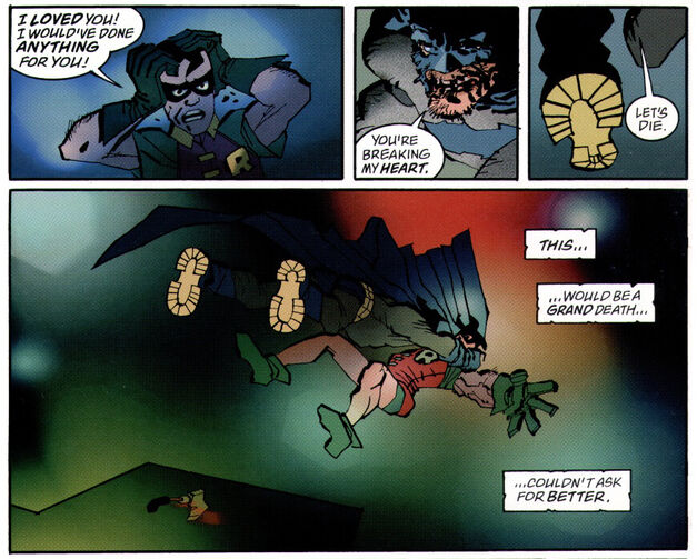 Dead Robin Dick Grayson Batman The Dark Knight Strikes Again