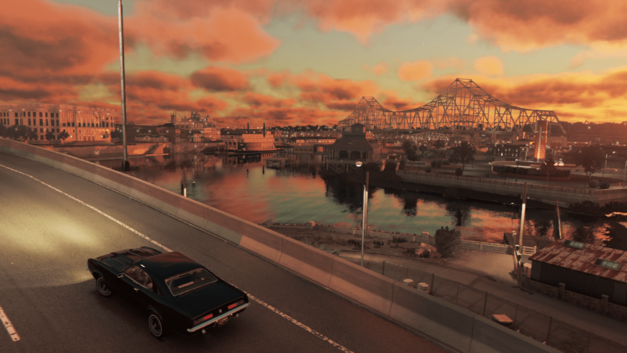 The City of New Bordeaux in Mafia III